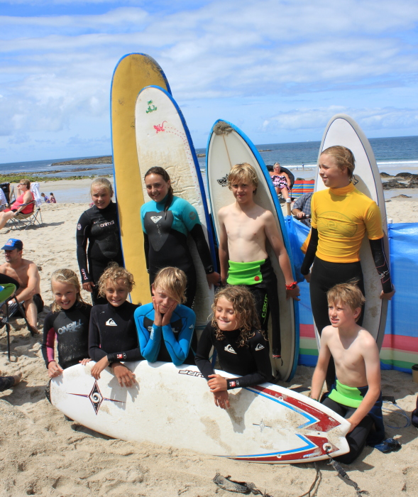 July Interclub surf comp with GAS